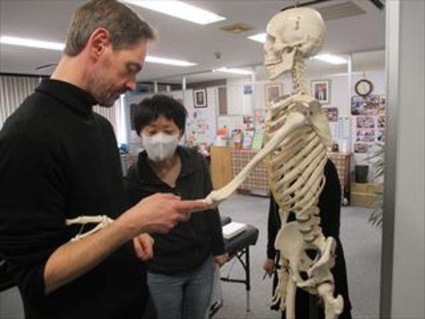 オステオパシーの臨床 授業