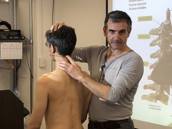 触診解剖学 上肢 講師 イヴ・フルニエルD.O. 2018年4月7日